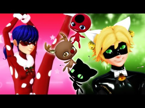 [Miraculous Ladybug] Special Christmas Transformations