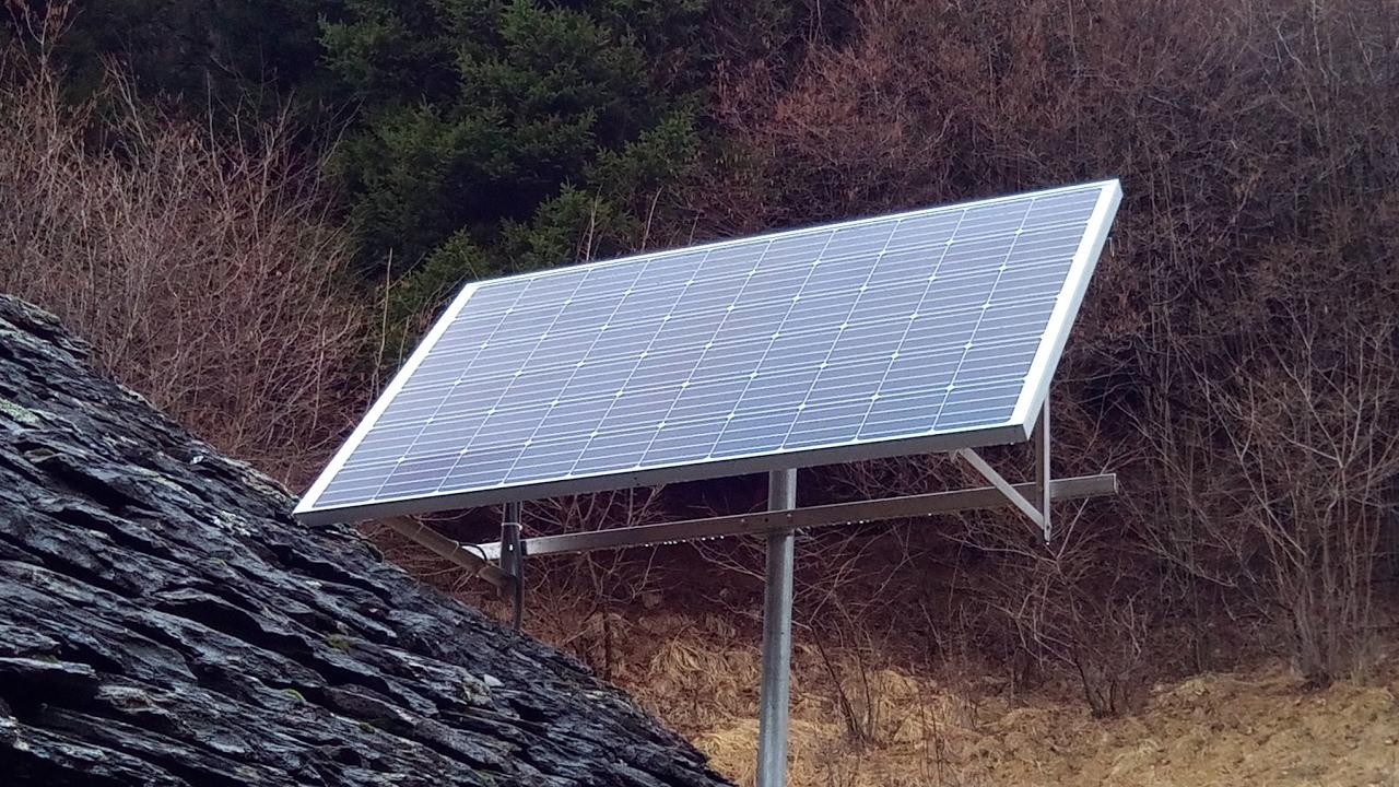 Pannello Solare Goal Zero : Impianto solare fotovoltaico ad isola per cascine di