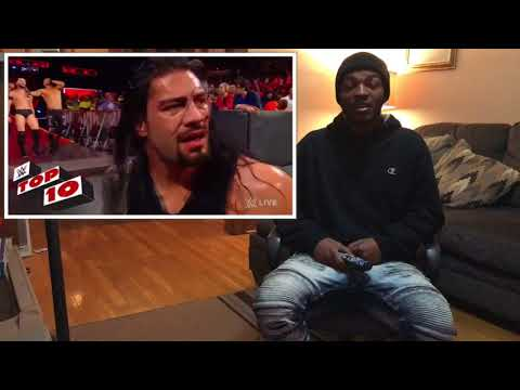 Top 10 RAW Moments: WWE top 10, January 8, 2018 |Reaction