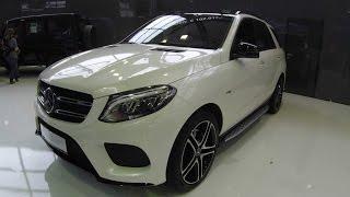 Mercedes benz amg gle 43 W166 (m-class) new model !  diamant white !