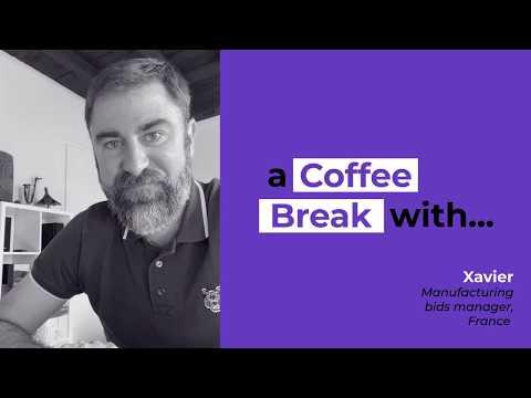A coffee break with Xavier