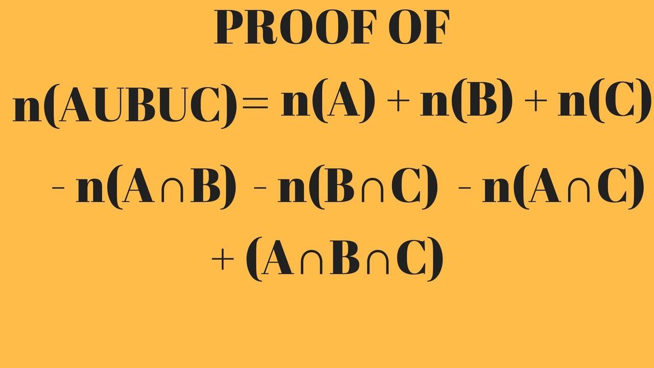 Union Of Three Sets By Venn Diagrams Eorem Of Sets