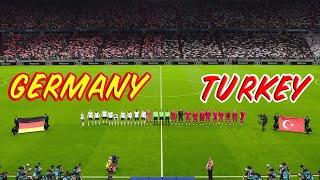 Германия Турция l Товарищеский Матч 2020