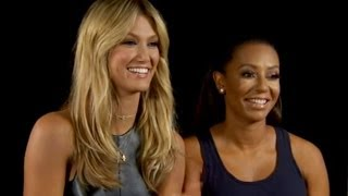 delta goodrem and mel b talk the voice kids on the today show