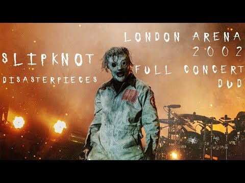 Slipknot Disasterpieces Live in London Arena 2002 Full Concert DVD