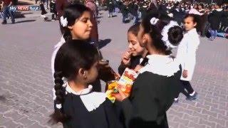 مدرسة في غزة تعيد تدوير نفاياتها