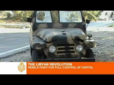 Rebels make steady gains in Tripoli