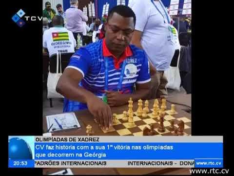 Xadrez Cabo Verde faz história com a sua 1ª vitória nas olimpíadas que decorrem na Geórgia