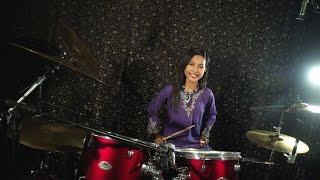Khalifah - Hang Pi Mana ( Drum Cover by Nur Amira Syahira )