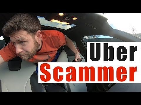 Uber Ride SCAM Gone Wrong |  Uber Short Stop Scam Canceled Ride