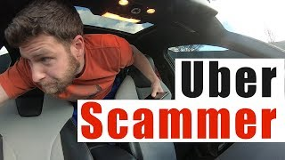 Uber Ride SCAM Gone Wrong |  Uber Short Stop Scam Canceled Ride thumbnail