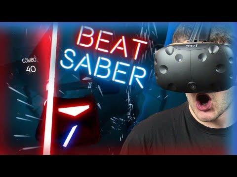 TA GRA JEST ŚWIET(L)NA! - Beat Saber (HTC VIVE VR)
