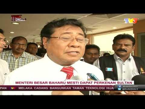 Jawatan Menteri Besar Selangor Akan Dikosongkan ?