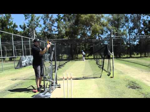 BAT130 Seam Bowling Machine vs CONNOR RYAN @ South Perth Cricket Club