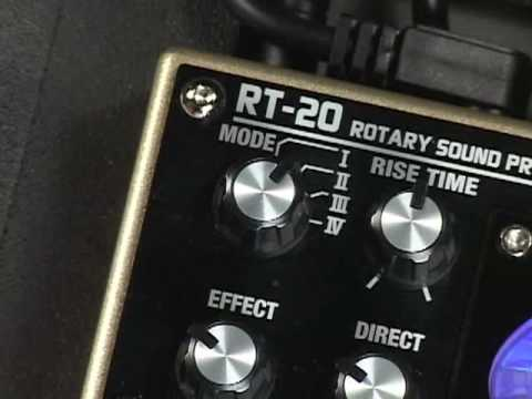 RT-20  Rotary Sound Processor [Overview]