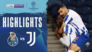 Porto 2-1 Juventus | Champions League 20/21 Match Highlights