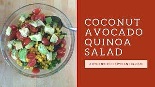 Coconut Avocado Quinoa Salad