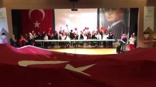 Cevizlibağ Doğa Koleji 4.Sınıflar Türkiye Büyük Millet Meclisi'nin Açılması Drama Gösterisi