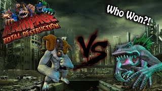Rampage: Total Destruction - Just a Fun Time!