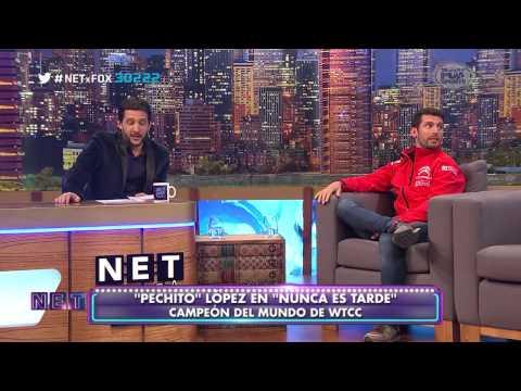 NET Nunca Es Tarde |  Mauricio Macri & Pechito Lopez | 15 Julio 2015