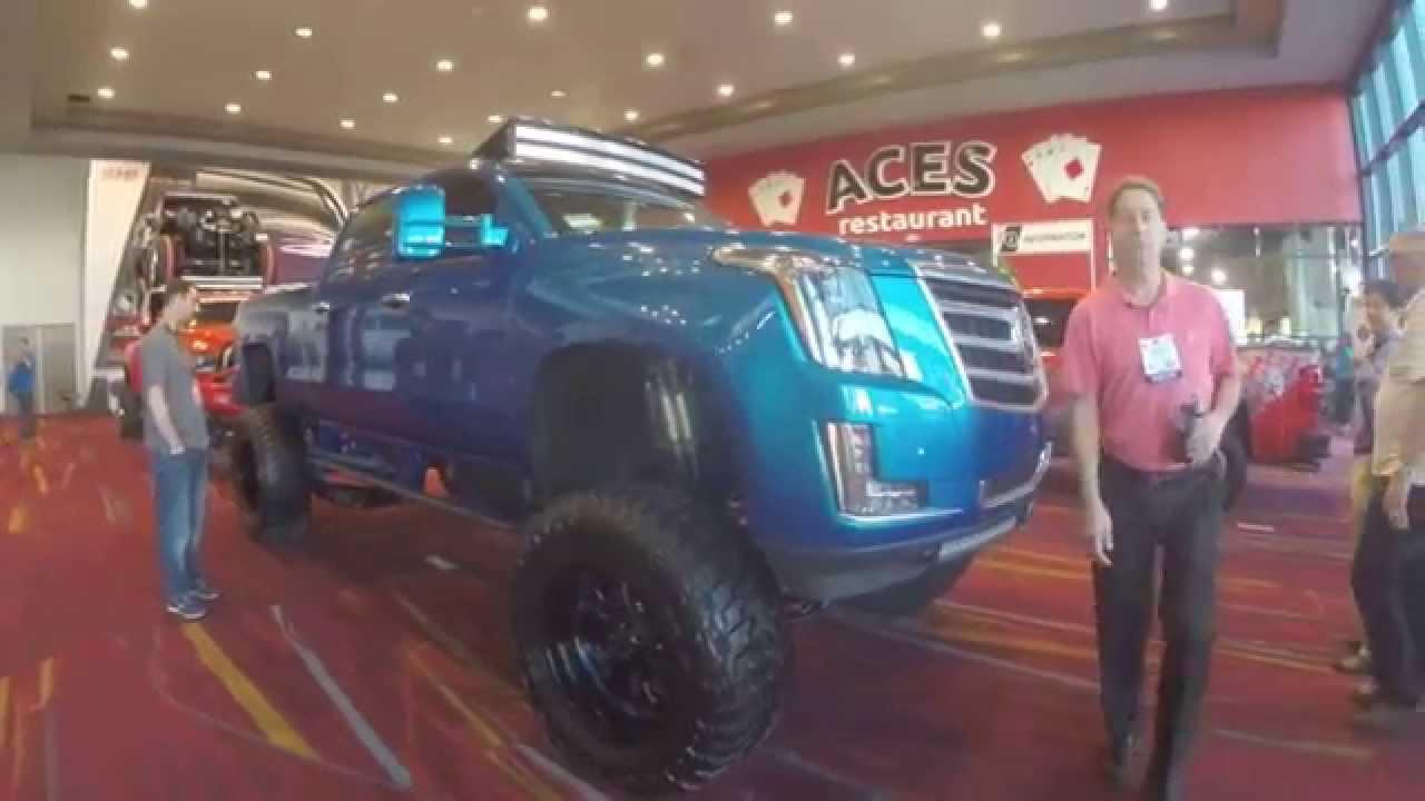 Cadillac conversion end escalade front kit