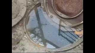 Прочистка канализации стальным тросом 15 метров сечение 15 мм, вес 25 кг  г  Симферополь(, 2015-04-15T14:19:28.000Z)