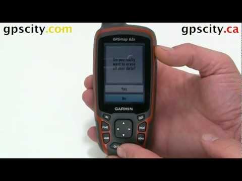 How to Reset the Garmin GPSMap 62 Series Handheld.