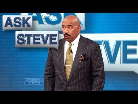 Ask Steve: The little girl is a thief! || STEVE HARVEY