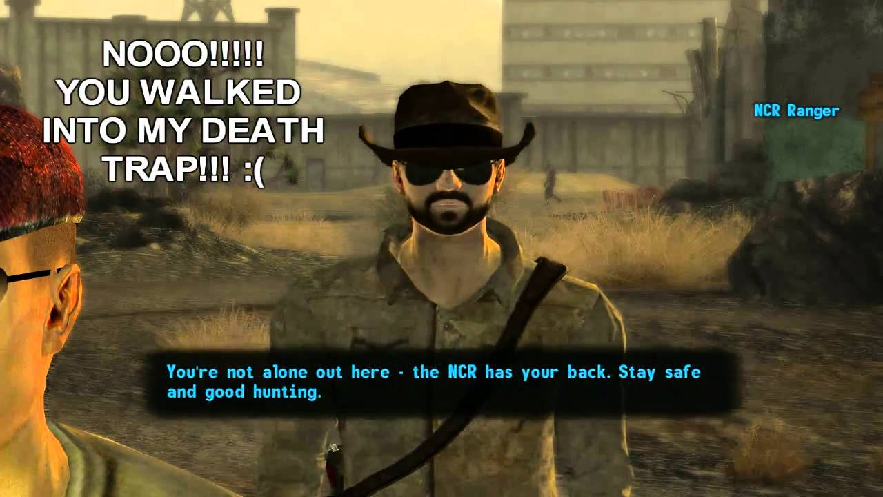Fallout new vegas funny incident with the ncr land mine youtube voltagebd Image collections