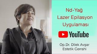 Lazer Epilasyon ile Tüyler Tamamen Biter mi ? | Op.Dr.Dilek Avşar #evdekal
