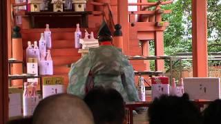 2012年1月3日、大和郡山の賣太神社で映画関係者がヒット祈願初詣...