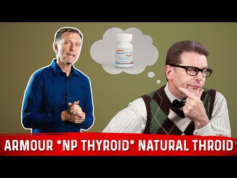 Natural Desiccated Thyroid: Why Some People React Badly