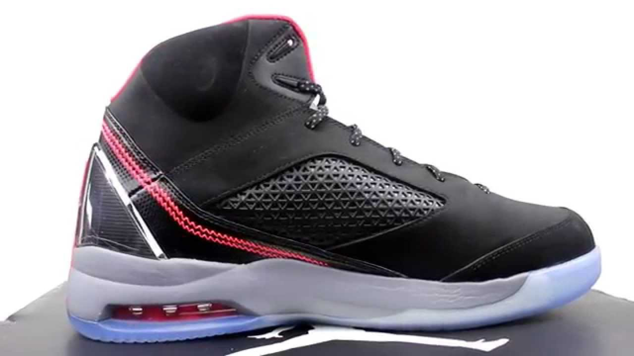 ff783188c9ac Men Air Jordan Flight Remix Black  Infrared 23  Cool Grey (360 View)  679680-020 www.EpicSneaks.com - YouTube