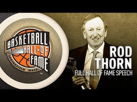 Rod Thorn | Hall of Fame Enshrinement Speech