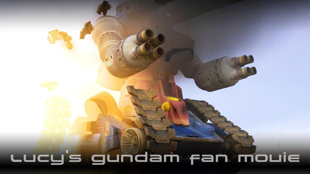 3DCGでGundam Fan Movie『ガンタンク絶対絶命』