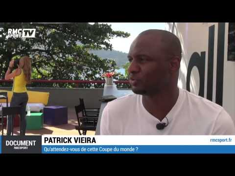 Document RMC Sport / Patrick Vieira veut voir le Brésil l'emporter - 12/06