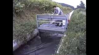 堰上げ式ゲート