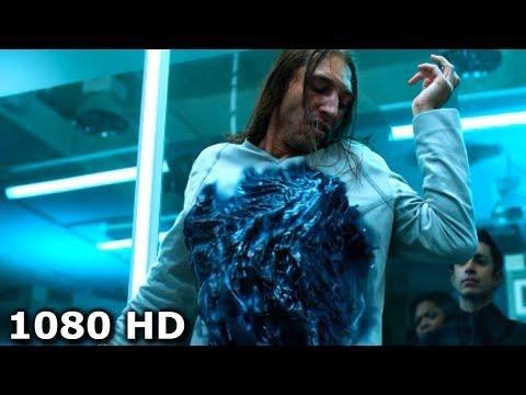 Симбиот соеденяется с первым человеком в лаборатории | Веном (2018)