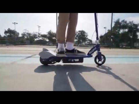 Электросамокат Razor E90 Электрический самокат для детей от 5 лет - Видео обзор