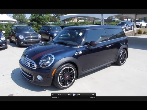 2012 Mini Cooper Clubman 50th Anniversary Hampton Series Start Up, Exhaust, and In Depth Tour