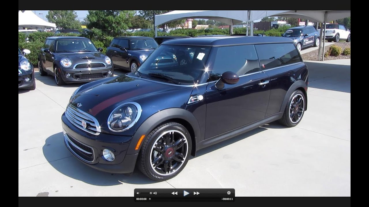 2012 Mini Cooper Clubman 50th Anniversary Hampton Series Start Up