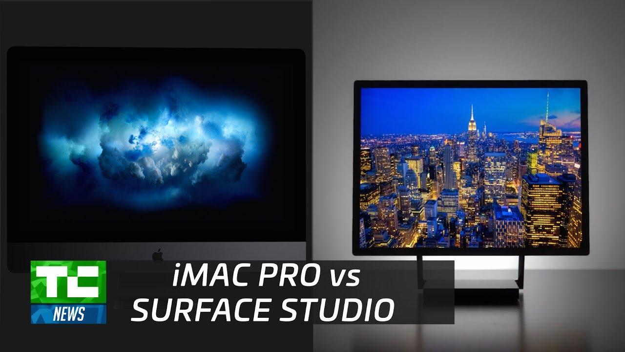 Surface studio vs imac new - Apple S Imac Pro Vs Microsoft S Surface Studio
