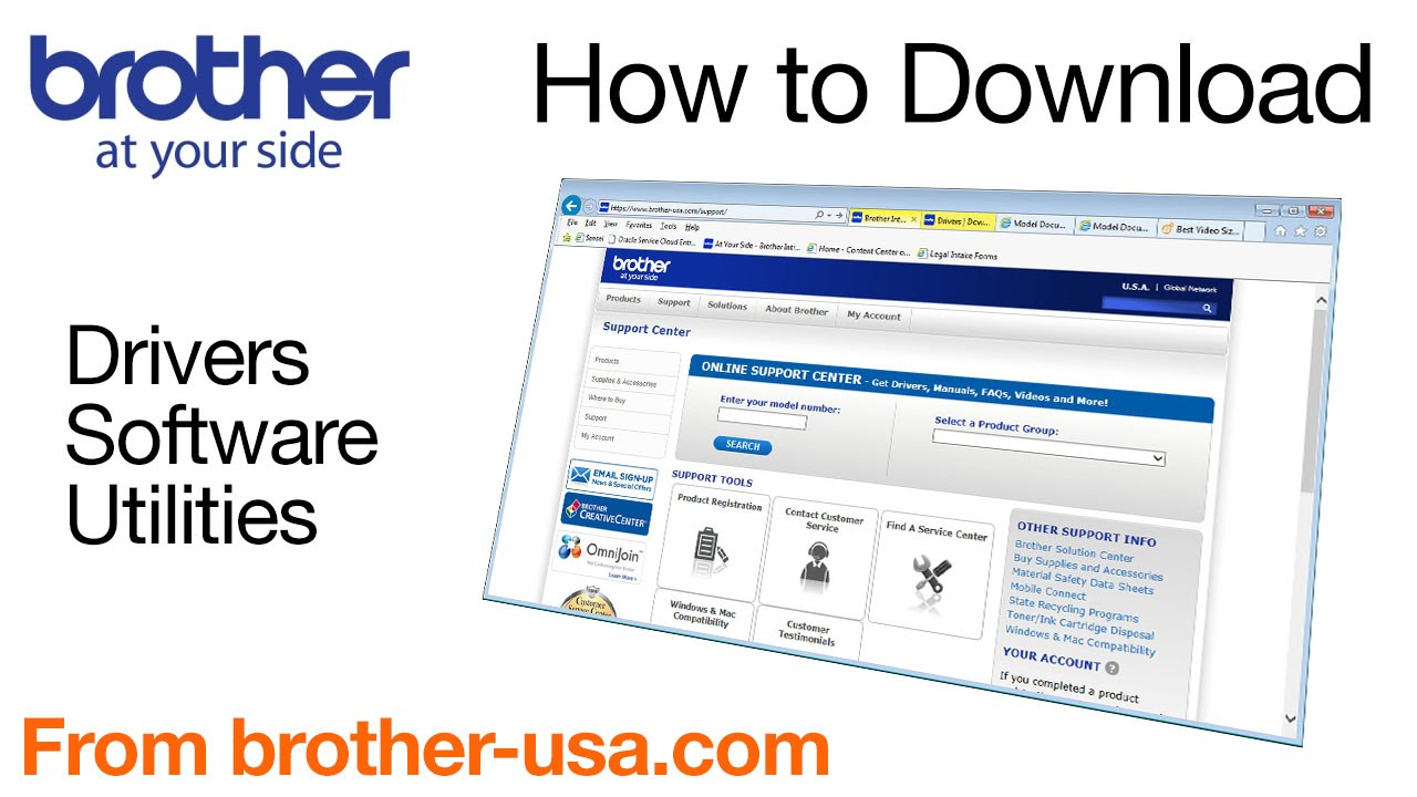 How to download software, drivers, or utilite…