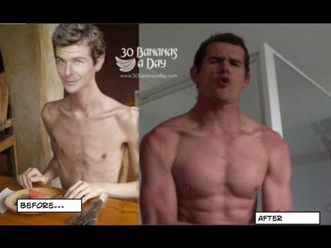 Skinny scrawny to bodybuilder natural transformation
