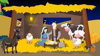 حكاية البشارة و ميلاد السيد المسيح - حكايتنا - قصص الكتاب المقدس كارتون للأطفال