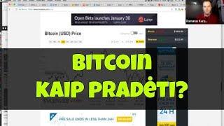 Kas yra bitkoinas ir kaip prekiauti šia kriptovaliuta m. - Admirals