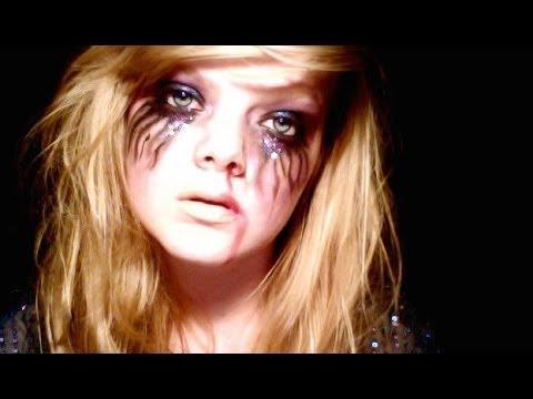 Halloween Makeup: Dead Party Girl - YouTube