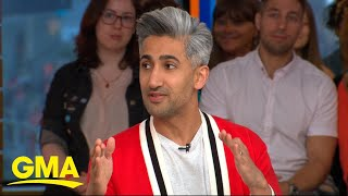 'Queer Eye' star Tan France talks celebs sliding into his DMs for fashion advice