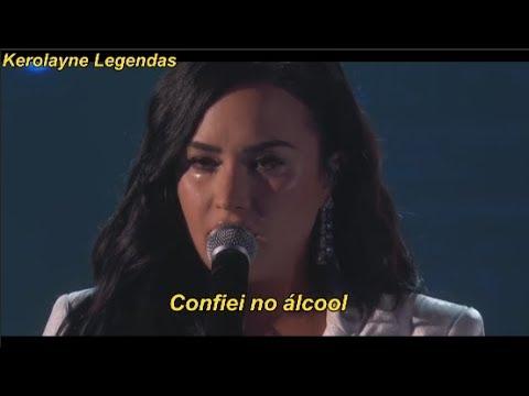 Demi Lovato Performance Crying – Anyone (LEGENDADO/LYRICS) GRAMMY AWARDS 2020 - Kerolayne Legendas
