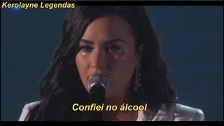 Demi Lovato  Performance Crying – Anyone (LEGENDADO/LYRICS)   GRAMMY AWARDS 2020